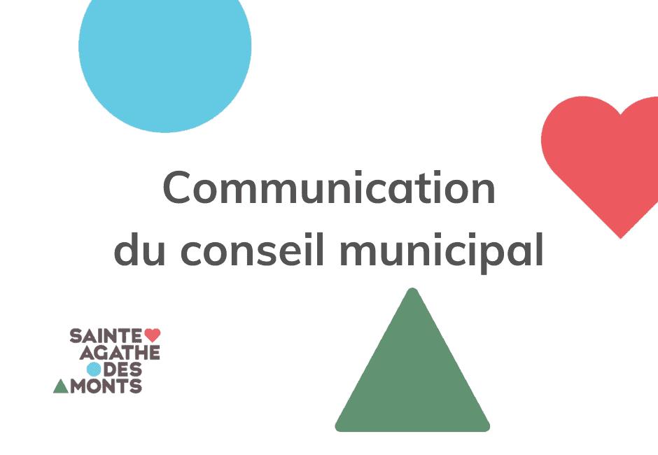 Le maire Denis Chalifoux ne sollicitera pas un autre mandat à la mairie de la ville de Sainte-Agathe-des-Monts