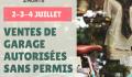 La Ville de Sainte-Agathe-des-Monts autorise les ventes de garage sans permis les 2, 3 et 4 juillet