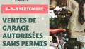 La Ville de Sainte-Agathe-des-Monts autorise les ventes de garage sans permis les 4, 5 et 6 septembre